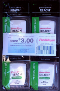 HOT! Reach Floss Money Maker at Fred Meyer after Coupons & Catalina!