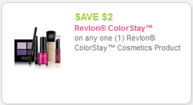 Great prices on Revlon Colorstay at Target With Coupon Stack!