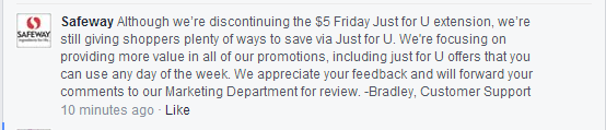 $5.00 Friday comments