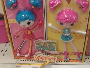 Lalaloopsy double pack only $9.99 at Target (regular price $24.99)!