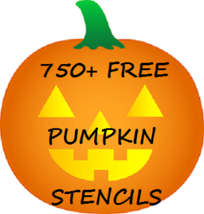 Halloween Fun! 750+ FREE Pumpkin Carving Stencils! The Kids Will Love This!