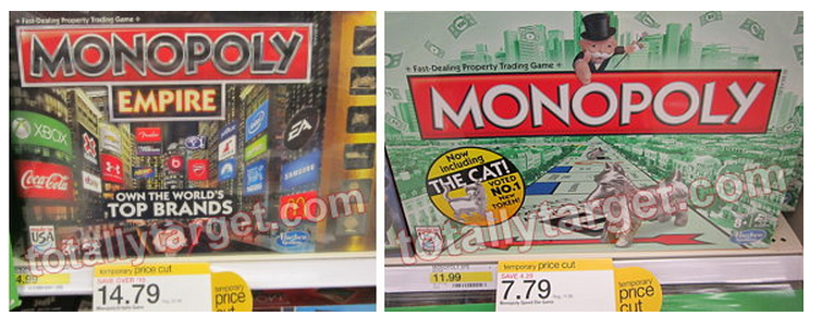 target monopoly