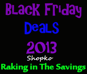 Black Friday 2013: Shopko Black Friday Deals!