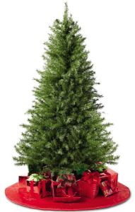 Wow! 6 Foot Unlit Artificial Christmas Tree Only $14.99! Was $49.99!