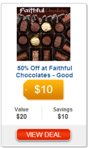 Coeur d'Alene Area Readers: Chocolate for Christmas! Get a $20 Voucher to Faithful Chocolates For Only $10!