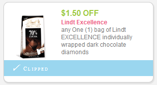 Save $ on any ONE (1) Lindt LINDOR item OZ or greater Additional Lindt Chocolate Coupons - - Save with even more savings thanks to Lindt Chocolate has a brand new coupon out now. This deal is for 75 cents off your purchase, and it is valid at a store near you.