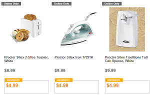 HOT! Toaster, Tall Can Opener, or Iron Only $4.99 TODAY ONLY!!
