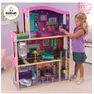 KidKraft City Lights Full Size Dollhouse for Only $89.97 + FREE Shipping! Your Girls Will LOVE This!