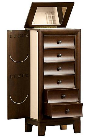 Beautiful jewelry armoires on sale now at sears great gift idea for armoire solutioingenieria Choice Image