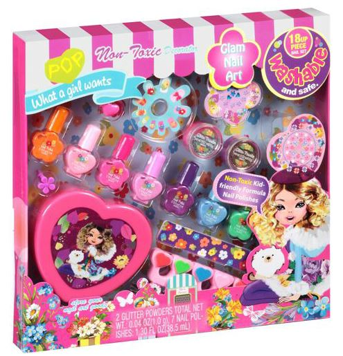 Pop glam nail art set 18 pc only 550 reg 988 prinsesfo Images