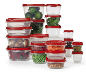 Rubbermaid 40-Piece Food Storage Set $7.50 (Reg $25.99)