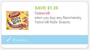 when you buy TWO PACKAGES any flavor Totino's™ Pizza Rolls™ (50 COUNT ONLY) clipped Unclip ⇶ Share Share with your friends.