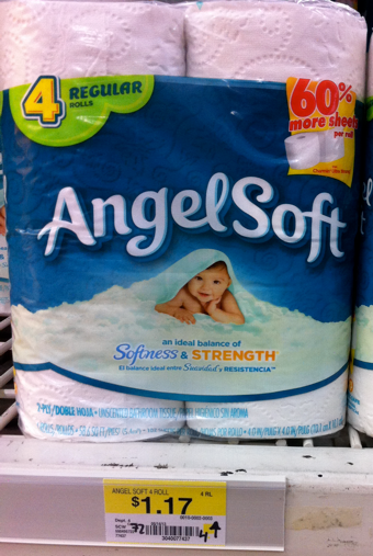 angel soft toilet paper only 072 with printable coupon
