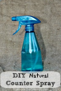DIY Natural Counter Spray