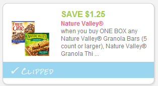 picture about Nature Valley Printable Coupons referred to as Warm $1.25/1 Box of Character Valley Granola Bars Printable