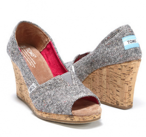Awesome TOMS Shoe Sale Going On Right Now + TOMS One For One Program!