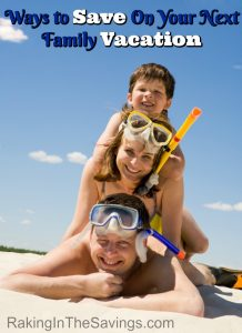 You can take a trip as a family and save too. Check out these 4 Ways to Save On Your Next Family Vacation!