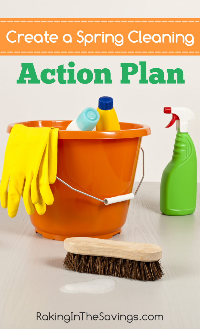 Create A Spring Cleaning Action Plan