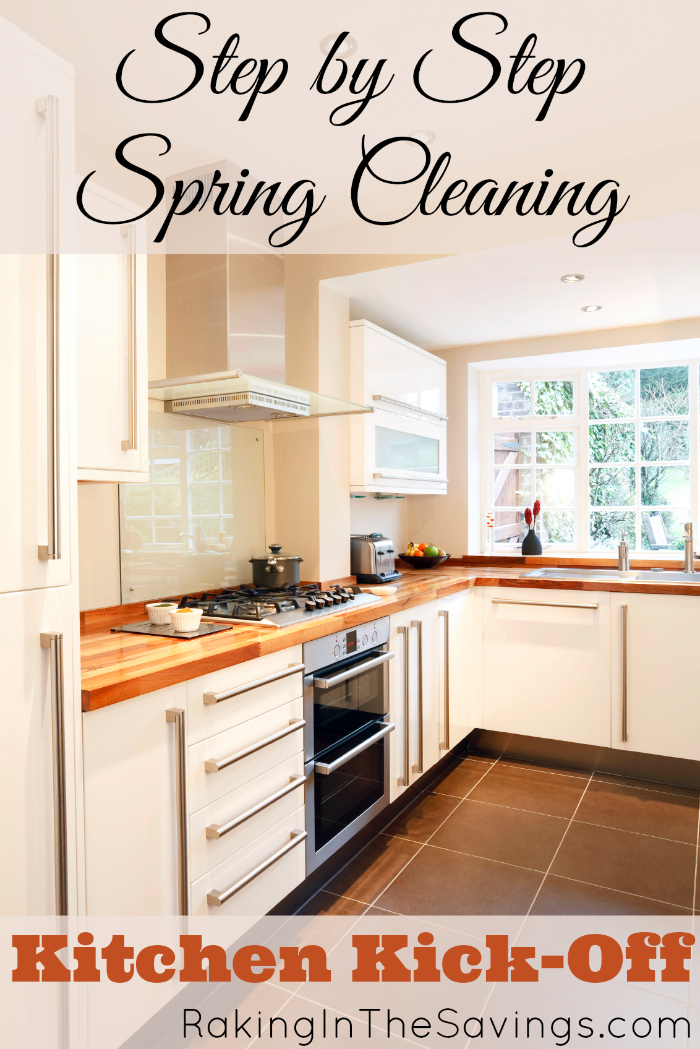 Deep clean your kitchen with this free step-by-step printable! If you missed last week's post, don't forget to create your Spring Cleaning Action Plan first!
