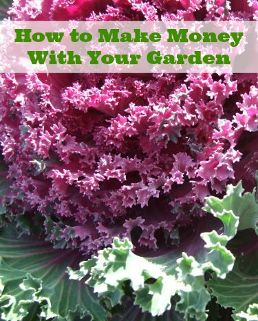 How to Make Money With Your Garden