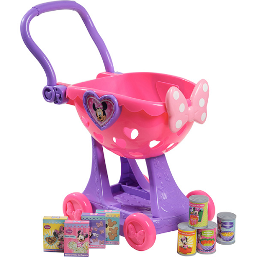 Disney Minnie Mouse Bow Tique Shopping Cart Just 14 99