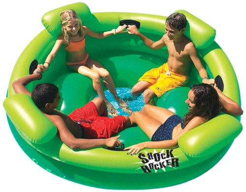 Summer fun for less huge inflatable rocker pool float for Accessoire piscine gifi