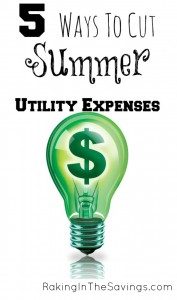 5 Ways to Cut Summer Utility Expenses