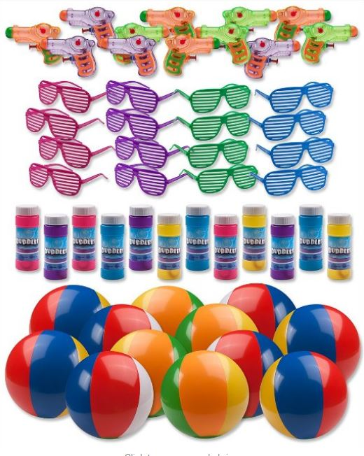 Birthday Parties Coming Up For The Kids Summer Toy Assortment 48 Pcs Party Favors Only 1995 Reg 3995