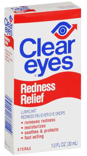 how to make eyes clear without eye drops