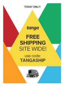 TODAY ONLY! Clearance Deals + FREE Shipping Site Wide on Tanga! Awesome Buys! Don't Miss This!!