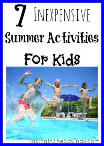 7 Frugal Summer Activities For Kids