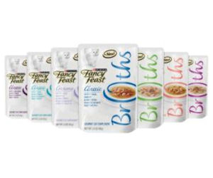 Grab a Free Sample of Fancy Feast Broths Cat Food!