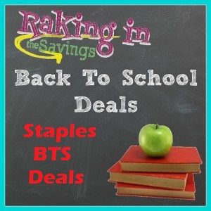 Staples Back to School Deals 9/6 – 9/12!  Erasers, Colored Pencils, Crayons, and More!