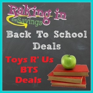 Toys R Us Back To School Deals 7/24 – 7/30! FREE Lunch Kit With Backpack Purchase!