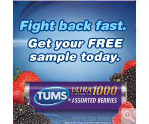 Free Sample of Tums Ultra Maximum Strength Tablets For Costco Members!