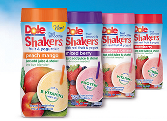 Yummy Dole Fruit Smoothie Shakers Only 75 At Walmart With New Coupon