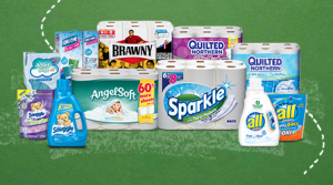 New Smart Must Haves Rebate! Valid on Brawny, All Detergent, Angel Soft, Quilted Northern & More!
