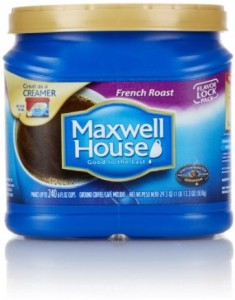 Maxwell House Coffee Big 29.3-30.6 oz Containers Only $5.99 at Safeway!
