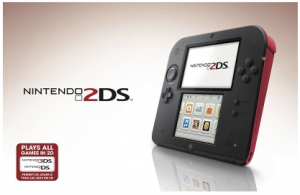 Gift For The Kids! Crimson Nintendo 2DS Only $104 + Free Shipping!