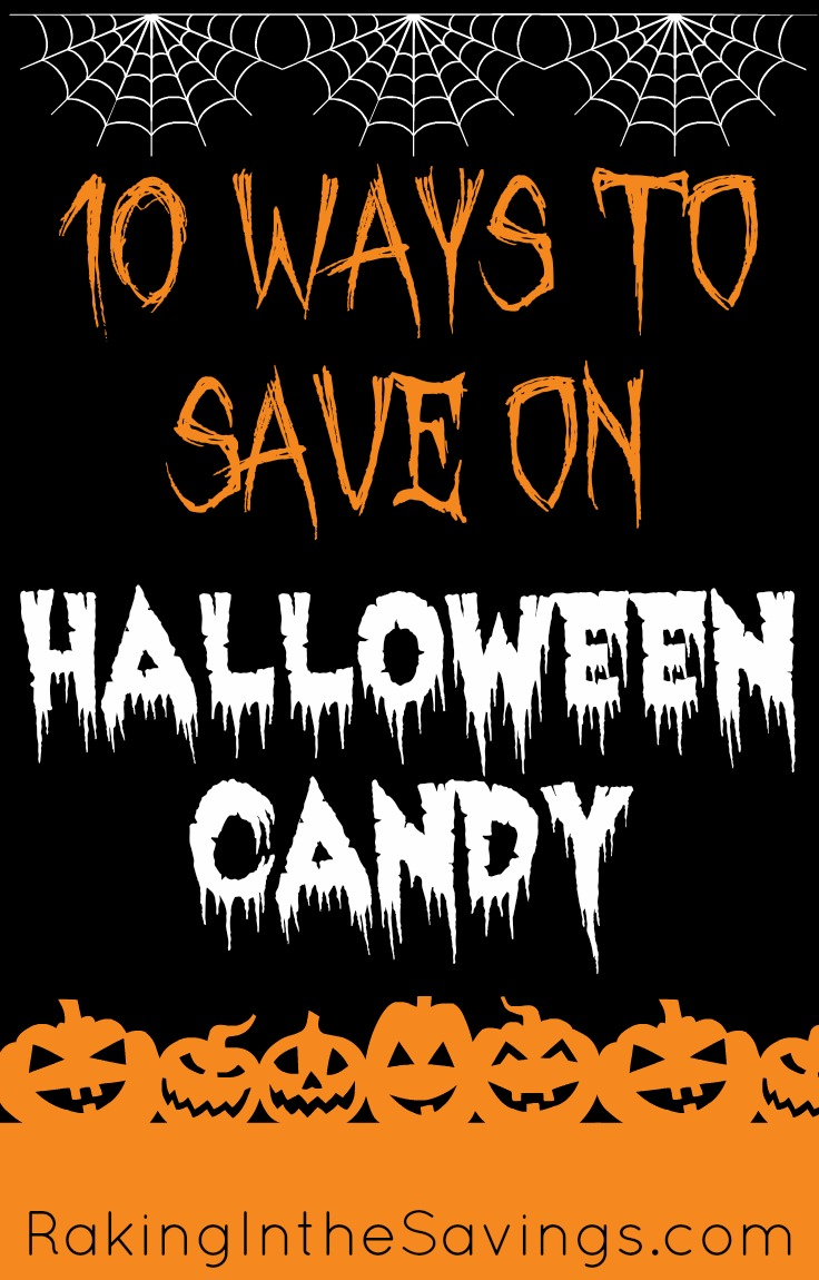 10 Ways to Save On Halloween Candy