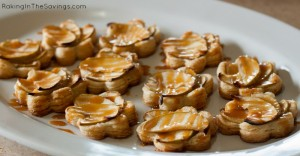 Apple Tarts with Caramel Sauce
