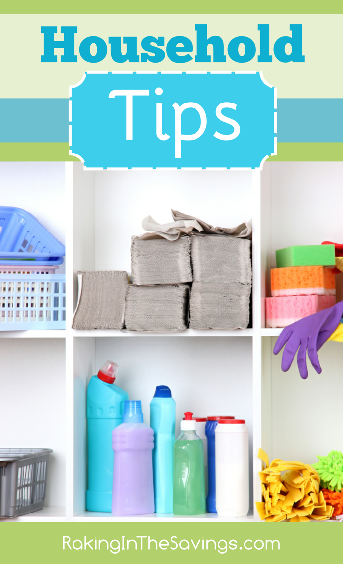 Household Tips to Save Time and Money