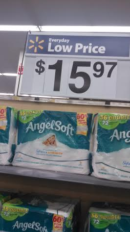 Angel Soft 36ct Double Roll Just 14 97 At Walmart Works