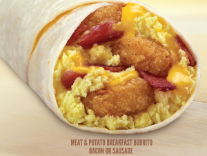 Visit Taco John's for a Free Breakfast Burrito on 9/18!
