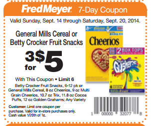 fred meyer general mills