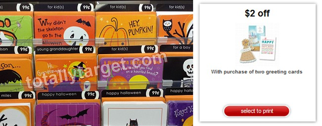 the kids will love this two free halloween greeting cards at target, Greeting card