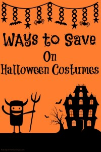 Ways to Save on Halloween Costumes