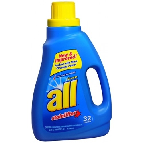 Wowzas! All Detergent Only $1.00 a Bottle Starting 8/9 at ...