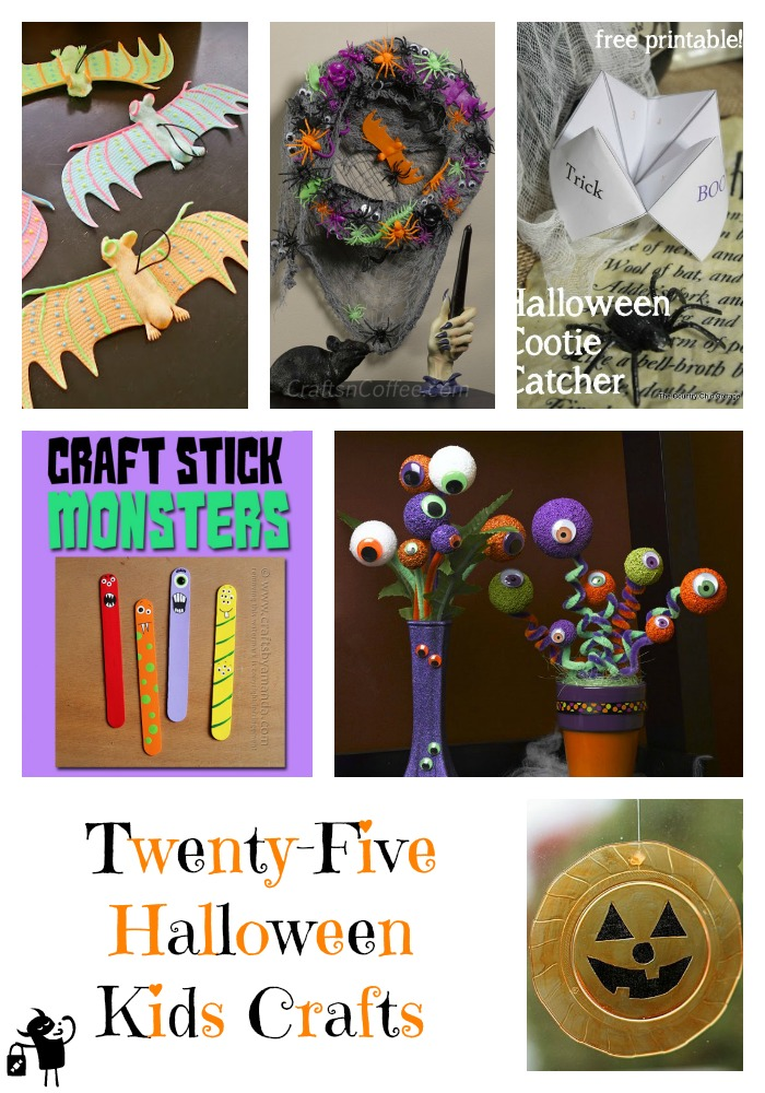 25 Kids Crafts for Halloween