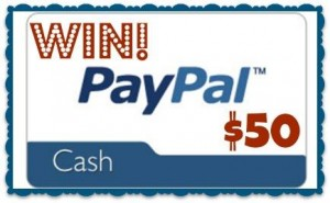 $50 Paypal Cash Giveaway! Get Your Chance to Win!